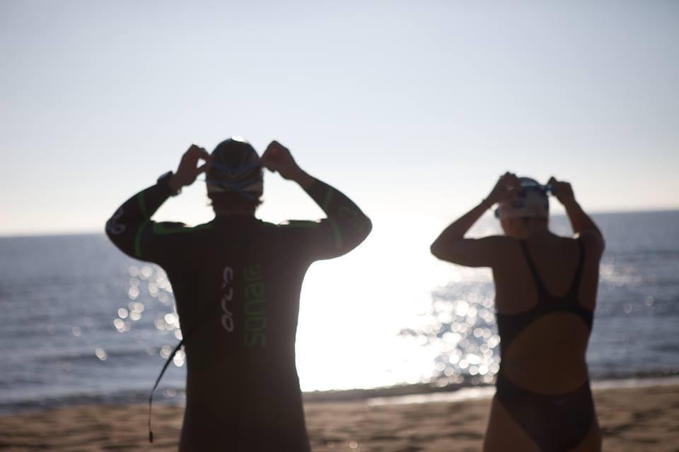 swimrun training camp in Barcelona