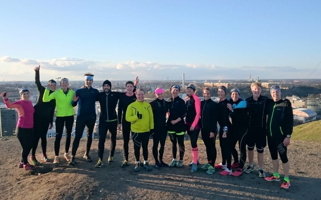 Trail running with Envol in Stockholm – September 2017