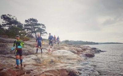 Camp d'entrainement sur la route de l'ÖTILLÖ